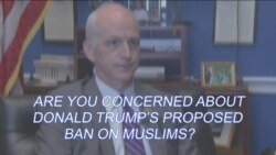 Congressman Adam Smith: Are You Concerned About Donald Trump's Proposed Ban on Muslims?