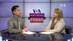 VOA News Words Today: Consensus