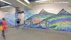 赏心悦目的纽约地下艺术馆作品