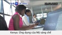 Ứng dụng Mỹ giúp doanh nghiệp Kenya vay tiền qua Facebook (VOA60)