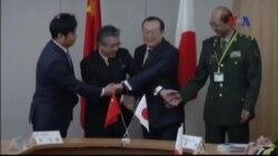 Nhật-Trung đàm phán an ninh