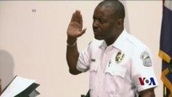 骚乱两年后弗格森继续警察局改革