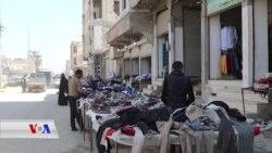 Aborîya Xirab Berê Reqayîyan Dide Bazara Kincên Karhatî