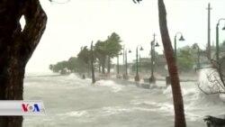 Bahoza Irma bi Sedan Xanî Wêran Kirin