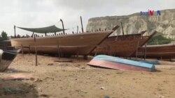 گوادر کے کشتی سازوں کو اپنا روزگار چھن جانے کا خوف
