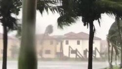 Plizyè Zòn nan Miami Sibi Frap Sekous Siklòn Irma
