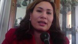 Alvenia Ropeta of the Philippine International Bible Church prays for her family - Part 3