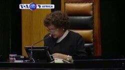 Perezida Jacob Zuma w'Afurika y'Epfo Yagumishijweho Icyizere