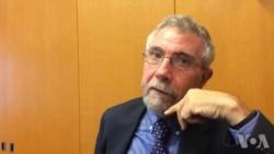 克鲁格曼接受美国之音记者采访谈中国经济(2)