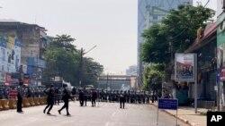 نیروهای ضد شورش در میانمار - آٰرشیو