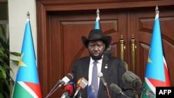 Rais wa Sudan kusinI Salva Kiir
