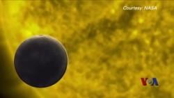 罕见水星凌日奇观