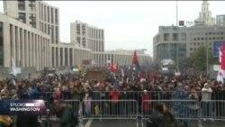 Moskva: 20 000 ljudi na protestima za oslobađanje političkih zatvorenika