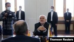 محمود جواد ظریف وزیر خارجه جمهوری اسلامی ایران