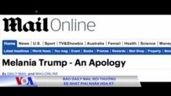 Báo Daily Mail bồi thường Đệ Nhất Phu Nhân Hoa Kỳ