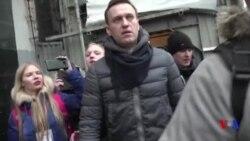 L'opposant russe Navalny interpellé par la police à Moscou (vidéo)