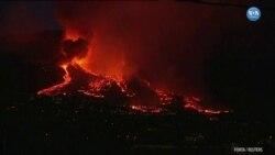 Yanardağ Faaliyete Geçti Tahliyeler Başladı