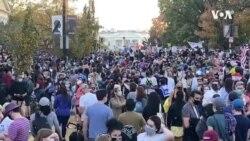 Proslava Bajdenovih pristalica u Vašingtonu