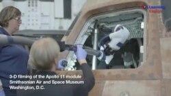 Apollo Spacecraft in 3D