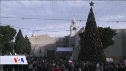 Božić u Betlehemu, mjestu Isusovog rođenja