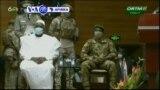 VOA60 AFIRKA: An rantsar da sabon shugaban rikon kwarya na kasar Mali