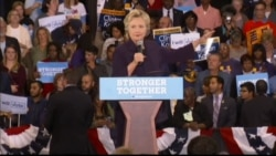 Clinton at Detroit rally: 'We are not Donald Trump'