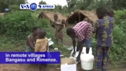 VOA60 Africa - South Sudan: UN distributes humanitarian aid to displaced people in remote villages Bangasu and Rimenze