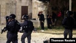 خشونتهای روز جمعه در شرق اورشلیم