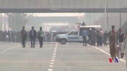 ممتاز قادری کی پھانسی کے بعد احتجاجی مظاہرے، سکیورٹی سخت