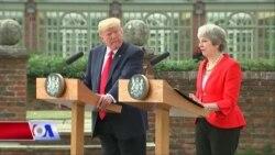 Chuyến thăm của ông Trump đến Anh gây chú ý