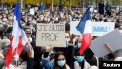 Tubime ne Francë pas vrasjes së një mësuesi të premten me 16 tetor
