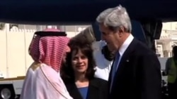 美国最高外交官抵达多哈出席叙利亚会议