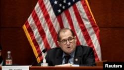 Predsjedavajući Doma pravosudnog odbora, predstavnik Jerrold Nadler, D-New York, govori tokom sastanka u Washingtonu 24. juna 2020.