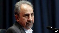 Mohammad Ali Najafi, ancien maire de Téhéran.