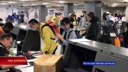 Thêm chuyến bay đưa người Việt 'kẹt' ở Mỹ về nước giữa dịch COVID