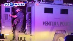 VOA60 America - Gunman Kills 12 at California Bar