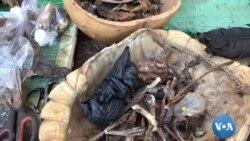 Un marché des aphrodisiaques traditionnels bobo Dioulasso