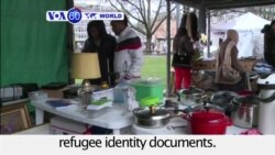 VOA60 World - More than 30,000 asylum seekers in Switzerland struggle without proper refugee identity documents