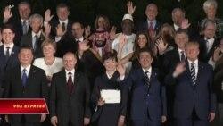 Thượng đỉnh G20 nêu bật những quan tâm về thương mại toàn cầu