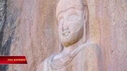 Các nhà khảo cổ Ý phục chế tượng Phật bị phá hoại ở Pakistan