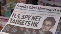 斯诺登称,美国侵入中国和香港网络