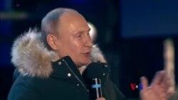 2018-03-19 美國之音視頻新聞: 普京獲絕對多數選票即將開始新總統任期