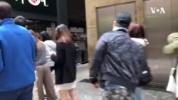 香港黃店遭損毀民眾排長隊消費表支持 (粵語)