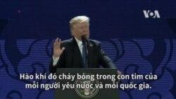 TT Trump ca ngợi dũng khí Hai Bà Trưng