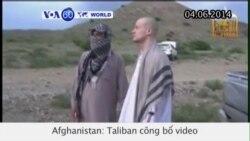 Taliban công bố video trả tù binh Mỹ