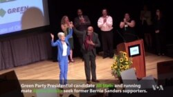Greens Nominate Stein, Baraka at Convention