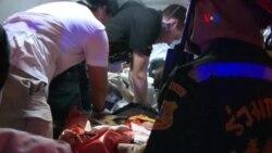 Mortal explosión en Bangkok