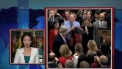 VOA连线: 美国国务卿约翰.克里正式上班