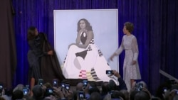 Michelle Obama Portrait Unveiled at Smithsonian
