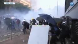 Hong Kong Yeni Haftaya da Gösterilerle Başladı